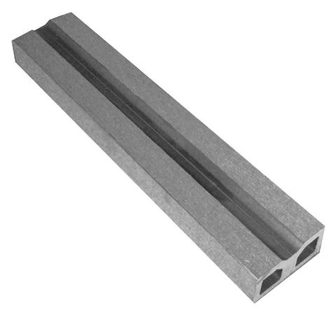 Nosná konstrukce s drážkou Silver grey 4m