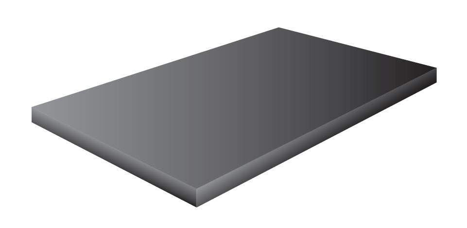 Pryžová podložka 8 mm