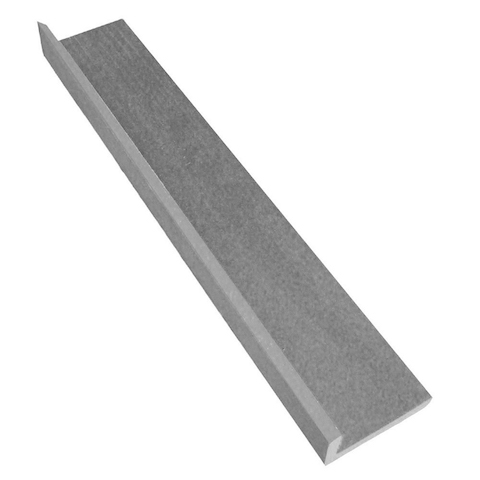 Ukončovací lišta rohová Silver grey