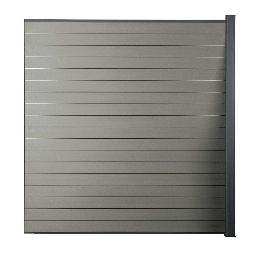 Zástěna rozšiřující Silver grey