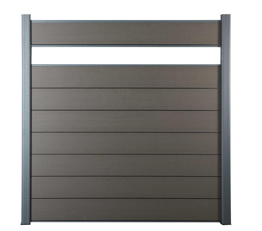 Zástěna základní Ebony grey
